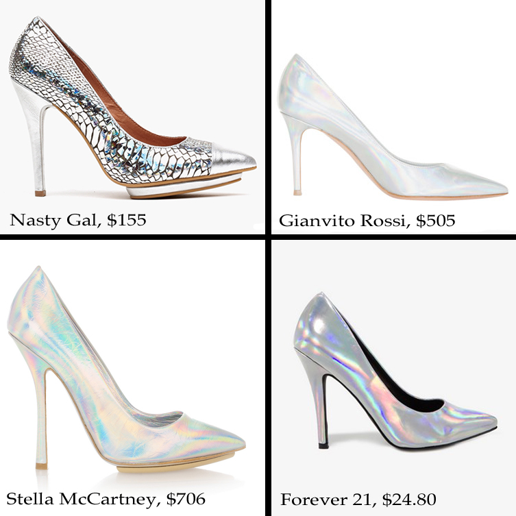 059826b7933 Forever 21 recently released a hologram capsule collection. I was  contemplating copping a pair since I don t feel the hologram pump ...